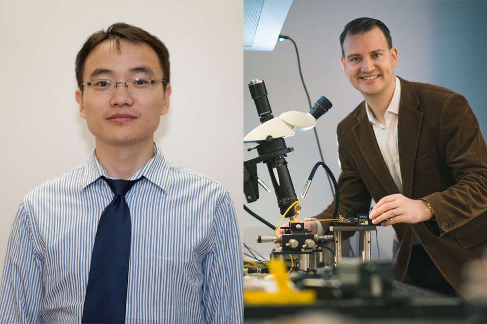 Drs. Liang and sorger Head shots