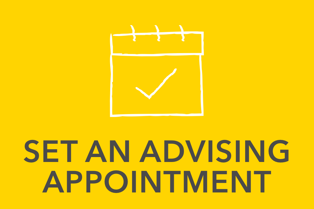 GW pinpoint; Set and Advising Appointment