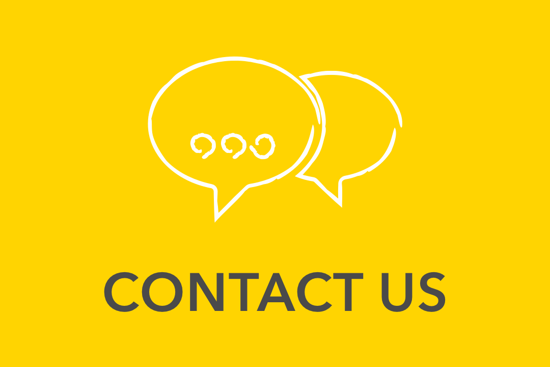 Graphical image of yellow Contact Us Icon