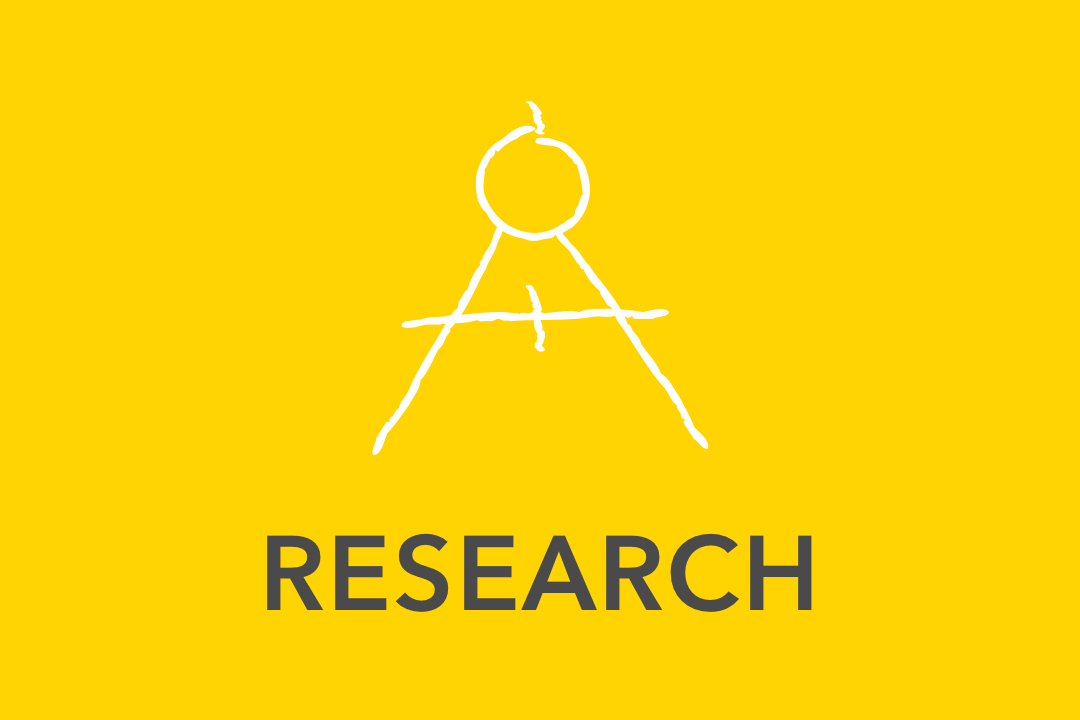 Graphical image of yellow Research Icons