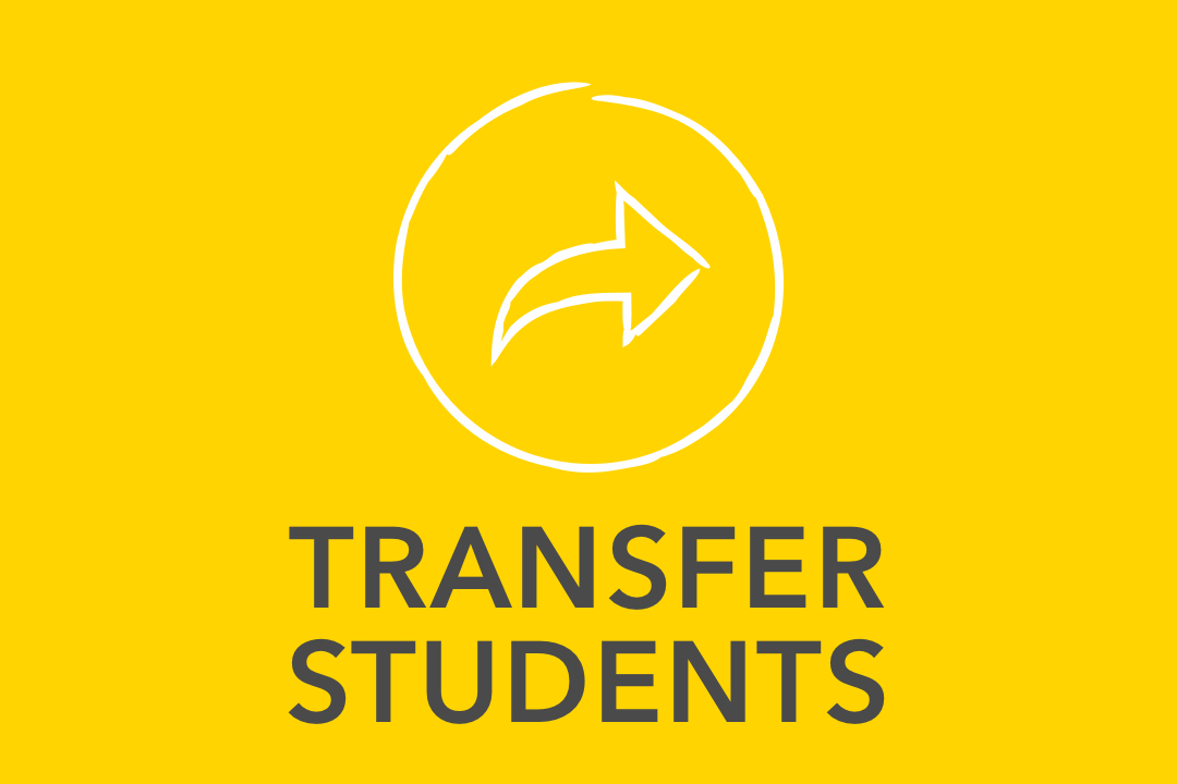 GW pinpoint; Transfer Students