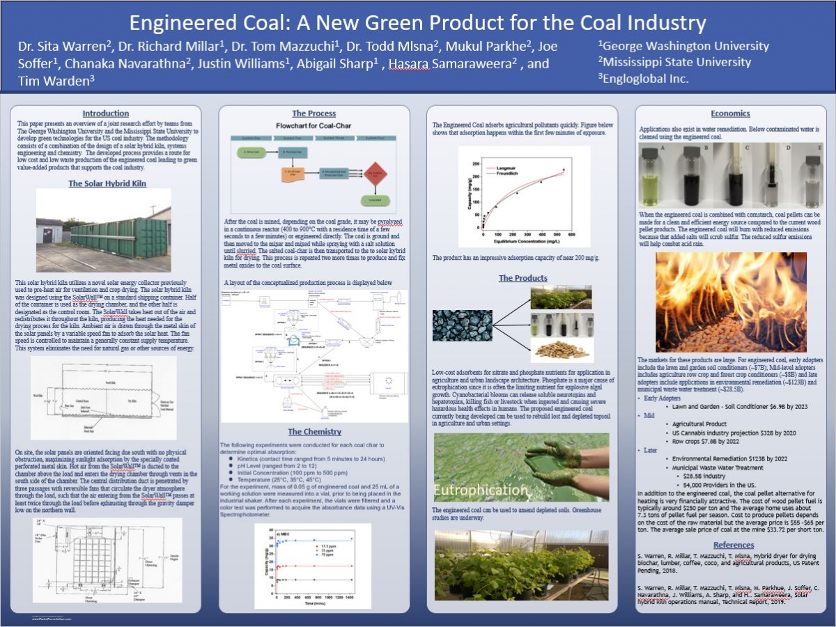 Engineering Coal: A New Green Product for the Coal Industry