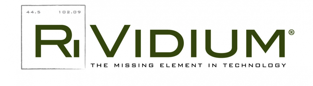 Rividium: The missing element in technology logo