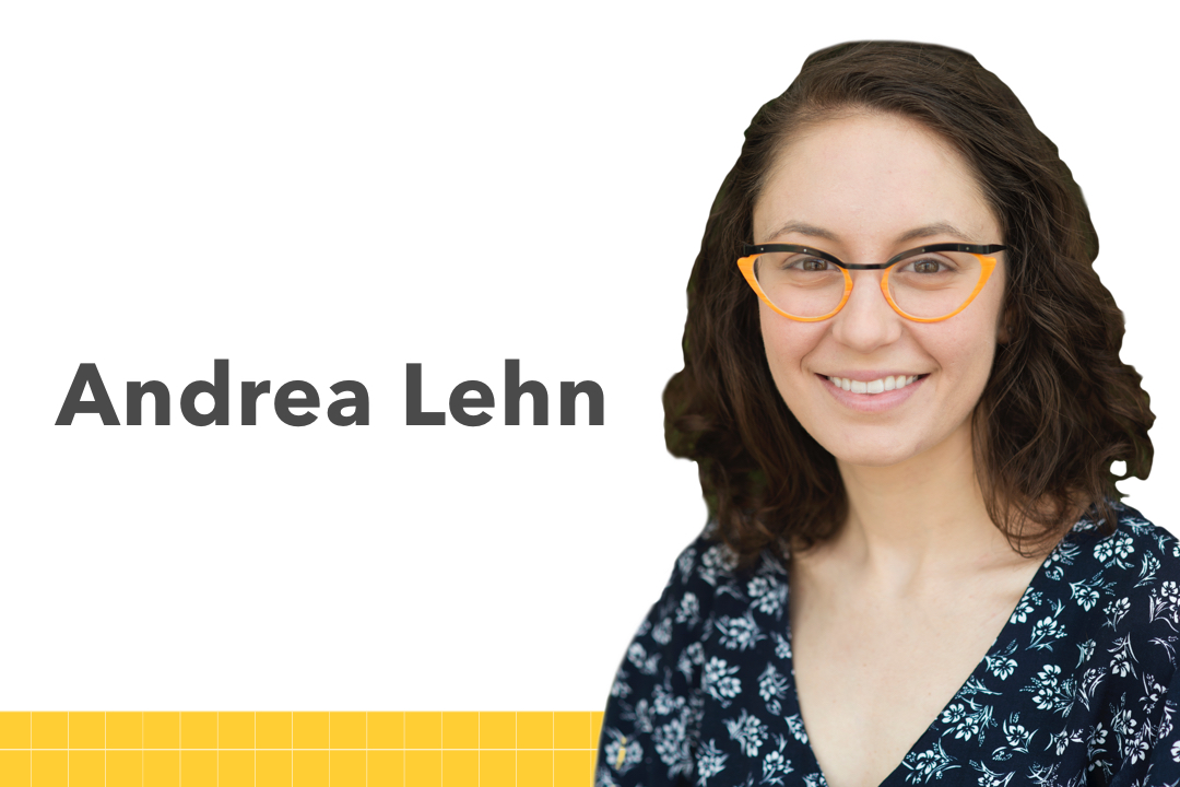 Andrea Lehn photo, links to the student biography