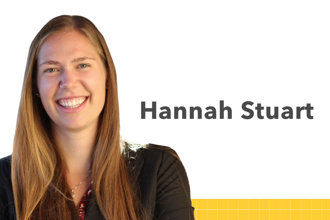 Hannah Stuart photo, links to the student biography