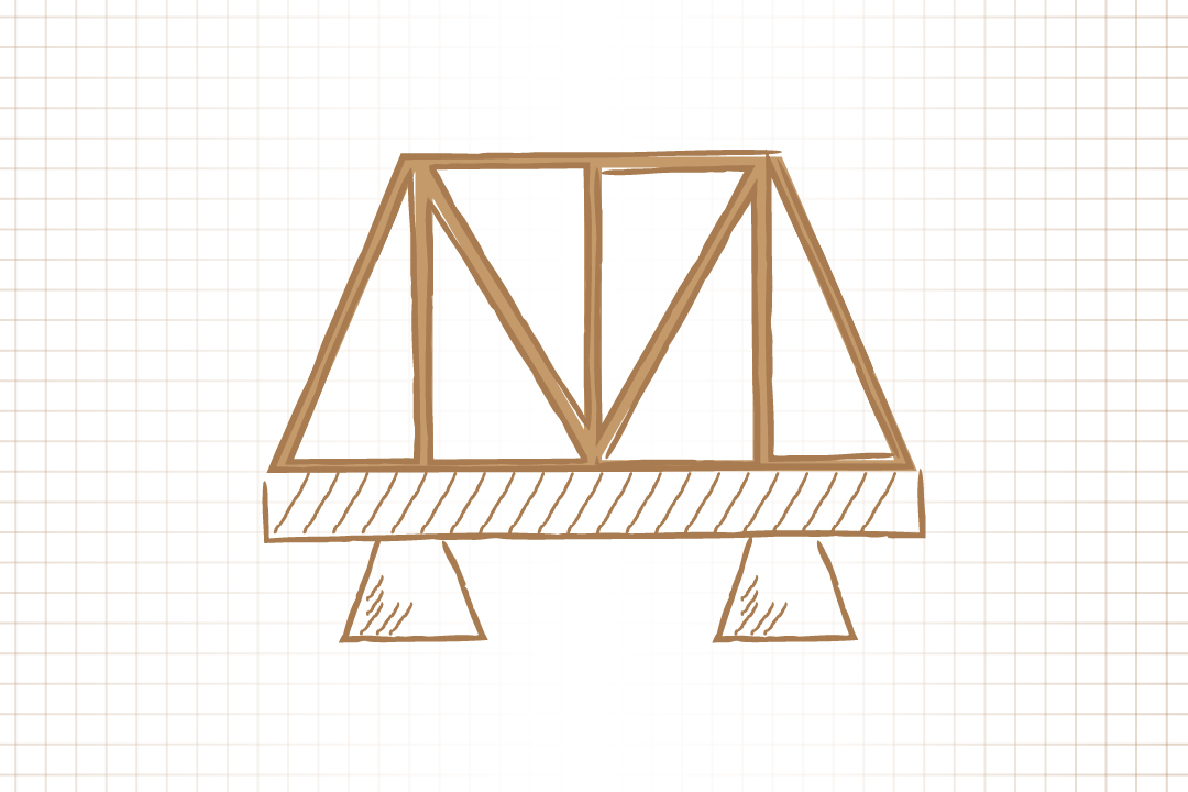 GW Pinpoint; Graphical image of a bridge