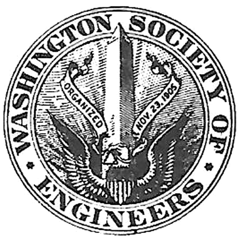 Graphic of Washington Society of Engineers logo