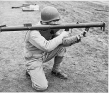 Photo of student with a Bazooka