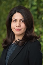 Photo of Professor Leila Farhadi