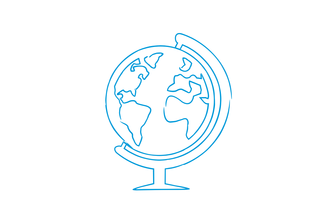GW Pinpoint; Graphical image of a globe; Study Abroad